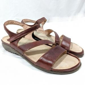 Naot Strappy Leather Sandals
